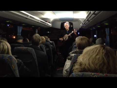 Embedded thumbnail for Reykjavík Reads 2013 - Poetry bus - Myrra Rós sing and songwriter performed