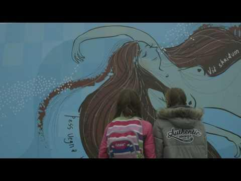 Embedded thumbnail for Reykjavík Reads 2016 - Words on the streets,Laugardalslaug